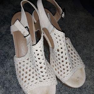 SO Wedge Sandal Heels
